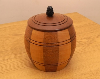 Wooden Bucket / Container || Laminated Lancroft wood ware