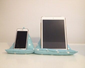 Iphone/Phone & Ipad/Tablet/Kindle Stand-Ipad Mini/Tablet Holder, Smartphone Cushion, Gift for Him, Gift for Her