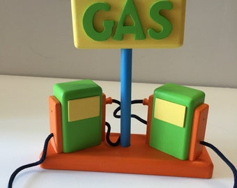Toy Gas Pumps for Toy Cars & Trucks