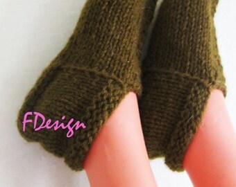 Women Slippers, Flats, Winter Home Socks, Hand Knitted, House Shoes woolblend yarn