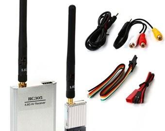 Boscam 8Ch 5.8G FPV Audio Video TS351 Transmisor RC305 Receiver RC072