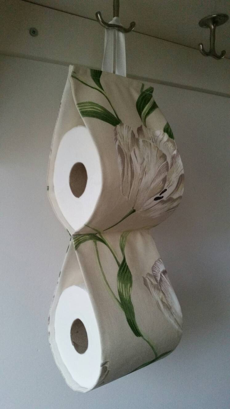 The Decorative Toilet Paper Holder Storage For 2 Rolls At The
