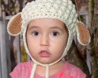Sweet Little Lamb Hat