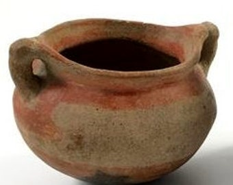 Historic Native American Pottery Pot, Ca Late 1800's, Curiosity #7, #948