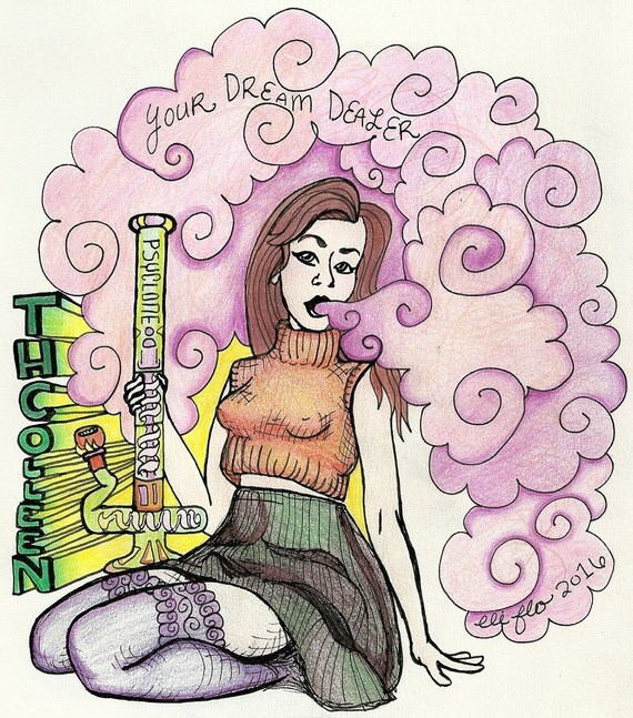 Adult Coloring Book Tumblr Stoners Part I Digital Download 5 JPEGS
