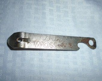 Won Up Bottle Opener / Vintage bottle opener / bottle opener / Canadian Bottle opener /