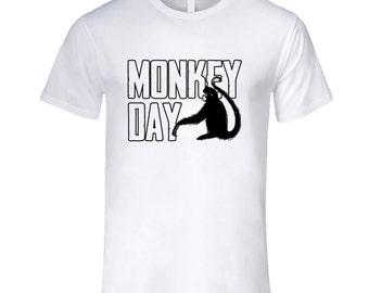 Monkey Day Fun Animal Celebration T Shirt