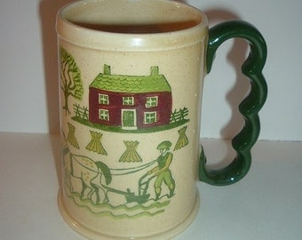 California Pottery Metlox Poppy Trail Grandmug Mug
