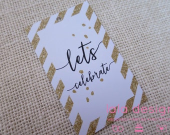 Let's Celebrate Christmas Tags