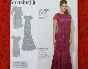 Plus size dress patterns formal