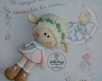 Crochet Spring Sheep - PDF pattern