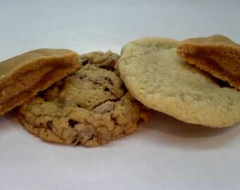 Peanut Butter Cup Stuffed Cookies ~ You choose cookie flavor ~ 1/2 or 1 dozen