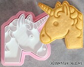 Unicorn Emoji Cookie Cutter
