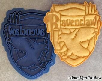 Harry Potter Hogwarts Ravenclaw Crest Cookie Cutter