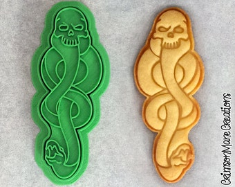 Dark Mark Harry Potter Inspired Cookie Cutter