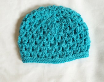 Beautiful Crocheted Baby Hat