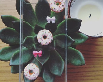 Kawaii Donut iPhone 5s Case Cute w Bows