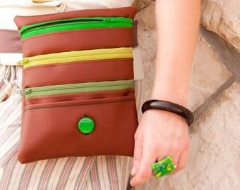 """Belt bag """"Lina"""" - unique fanny pack"""