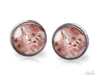Earrings flowers - cherry blossom 6
