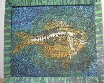 """Batik """"FISH"""". original batik"""