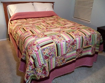 Pretty in Pink - Large Queen Quilt