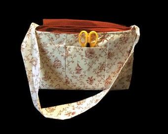 Nature themed messenger bag
