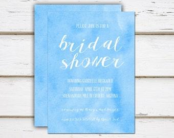 Chloe - Printable Bridal Shower Invitation