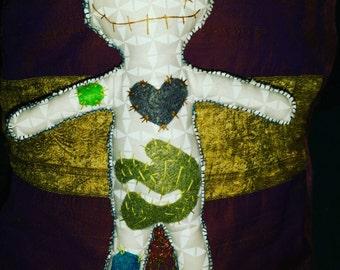 "Gus-Gus the Gutbuster Voodoo Doll 12"" #ludusvudus"