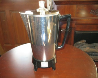 presto submersible electric coffee pot.