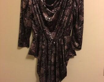 Vintage Korrigan Drape Party Dress