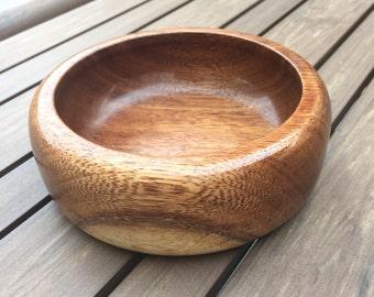 """A 6x6x2"""" Kwila bowl"""