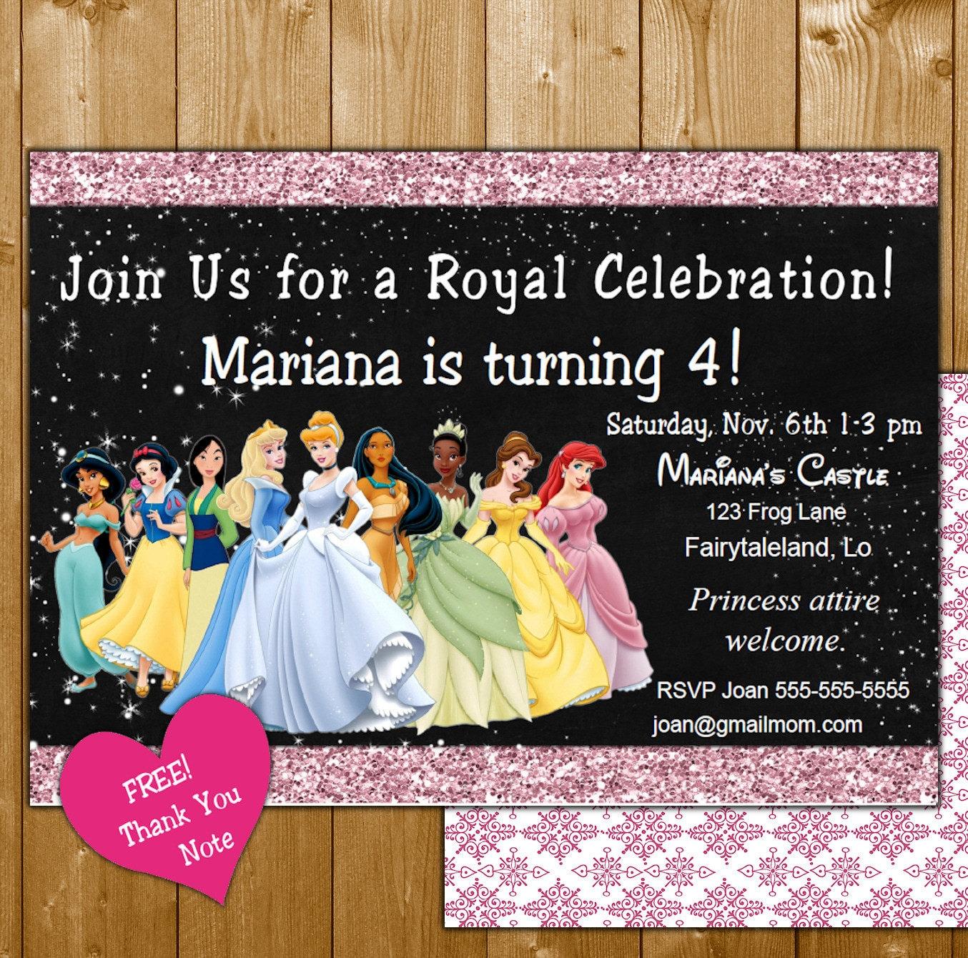girl invitation – funpartysupply