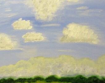 11x14 Serene Field