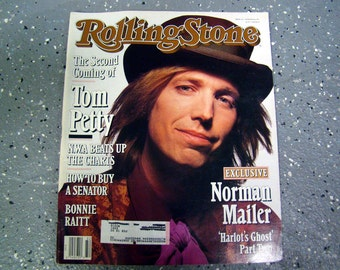 Tom Petty - Rolling Stone Magazine Issue# 610 - 1991