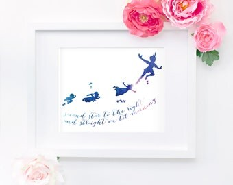 Peter Pan 8x10 Twilight Print