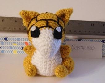 Chibi Crochet / Amigurumi Pokemon Sandshrew