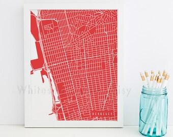 Berkeley Map Berkeley Art Berkeley Map Art Berkeley Print Berkeley Printable Berkeley City Art Berkeley City Map California Art