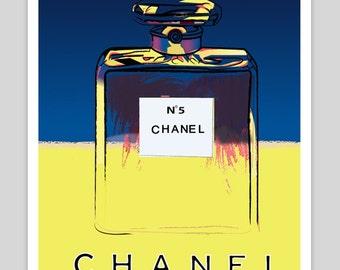 Chanel Vintage Poster