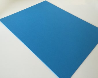 Blue Card Stock 8.5 x 11 Premium Paper Smooth Acid Free 65 lb / 176 g/m2 Astrobright for scrapbooking paper supply diy multipack supplies