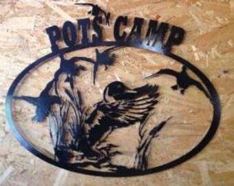 Custom Camp Sign