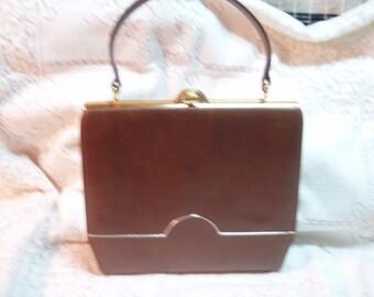 "Brown ""leather"" purse***SALE"