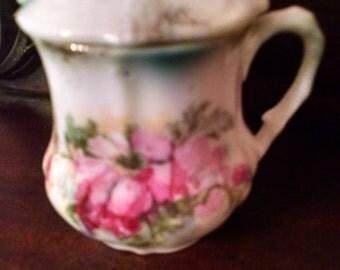 small bone china mustard jar