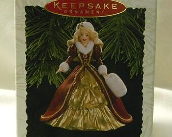 Hallmark Keepsake Barbie Ornament - Holiday Barbie Collection - 4th. in Series - NIB