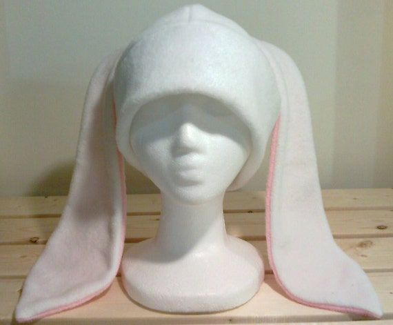 how to make a fleece hat with ears