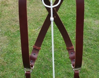 Double Camera Harness (light edition) Chocolate/Brown