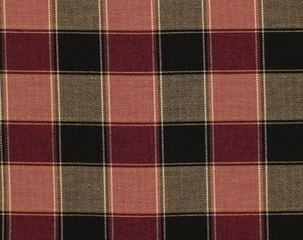 "Ross Cotton Stretch Twill Plaid Suiting Fabric By the Yard ""STTW3F-S093188"""