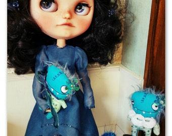CreEpy MoNstER miniature for Blythe or similar dolls