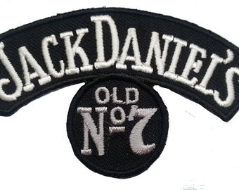 Jack Daniels Tennessee Whiskey Old No. 7 Logo Patch
