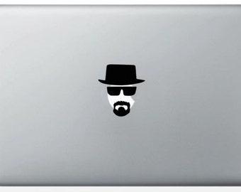 Heisenberg - Breaking Bad for MacBook stickers