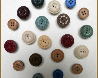 Set of 20 Multi Color Button With Strong Magnets